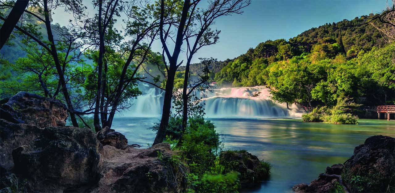 Krka - Skradin National Park - The Okrug-Trogir Riviera