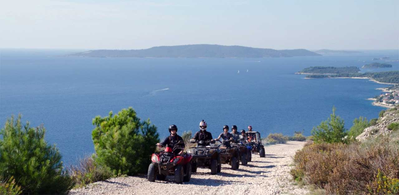 Riwiera Okrug Trogir - The Cycling/Quad Tour Of The Island Of Čiovoa