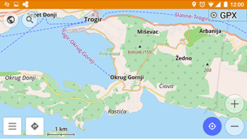 Off-line Maps and GPS Navigation — OsmAnd download FREE